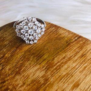 Nadri // Bouquet CZ Ring - Size 6